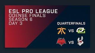 Full Broadcast: Fnatic OpTic | HellRaisers Misfits - Quarterfinals - ESL Pro League Season 6 Finals