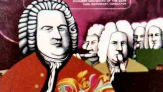 Bach / Karl Ristenpart, 1960: Brandenburg Concerto No. 4 in G major, BWV 1049 - Complete