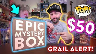 Epic $50 Funko Pop Mystery Box Unboxing! 😱