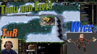 "Wycc и Банда в ""Warcraft 3 Troll and Elves""●(Шусс на Троле)"
