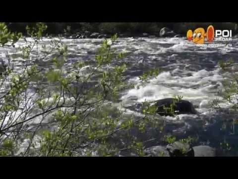 Видео — река Кола, Мурманск