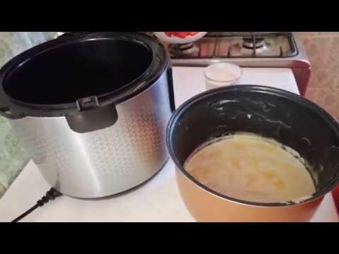 Ряженка из топленого молока в мультиварке