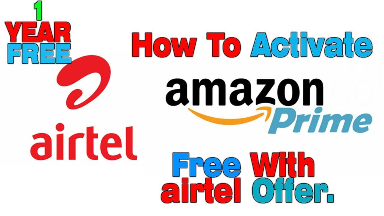 Airtel-Amazon Prime Membership Free Step By Step Via Airtel Tv Application  Free For 1 Year