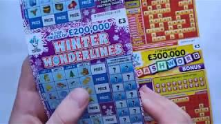 WINTER WONDERLINES VS CASHWORD BONUS