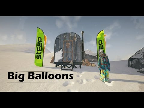 Steep - Big Balloons (Hot Air Balloon Glitch)