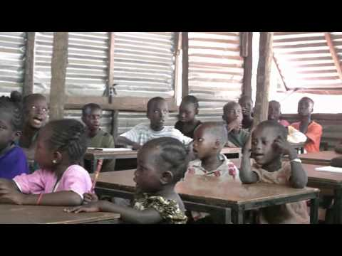 A SCHOOL IN THE GAMBIA WEST AFRICA.