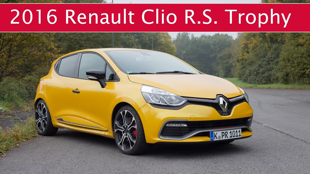 fahrbericht renault clio r s 220 edc trophy youtube. Black Bedroom Furniture Sets. Home Design Ideas