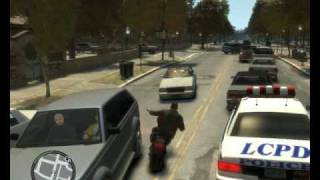 GTA 4 PC Gameplay Maximum Settings On HD4850!