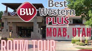 Queen Suite Room REVIEW at Moab BEST WESTERN PLUS Canyonlands Inn, Utah