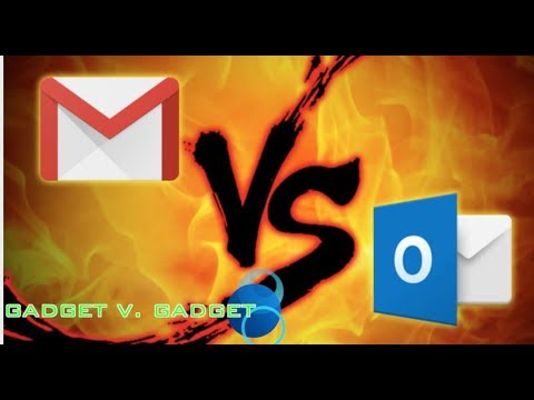 Google Gmail VS. Microsoft Outlook!