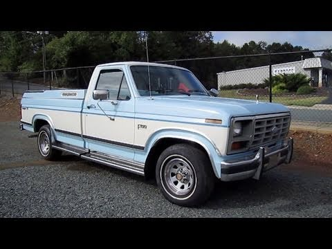 1986 Ford F150 XLT Start Up, Engine, and In Depth Tour - YouTube
