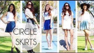 STYLING: Circle Skater Skirts