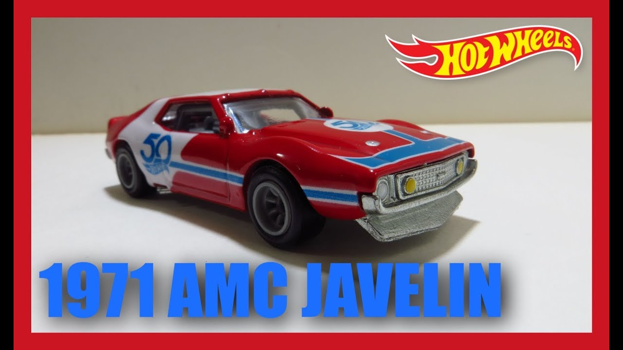 Hot Wheels '71 AMC Javelin AMX / 50th Favorites