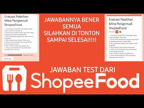 Jawaban Untuk Test Shopee Food Driver Dijamin Benar Semua