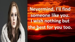 Karaoke - Someone Like You By Adele (Videoke | Lyrics | Minus One)