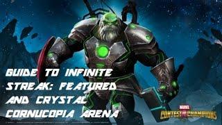 featured and crystal cornucopia infinite streak