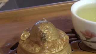 Обзор новой колбы для заваривания чая и чая Тайпин Хоу Куй