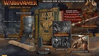 Total War: Warhammer - ДАТА ВЫХОДА и Limited Edition
