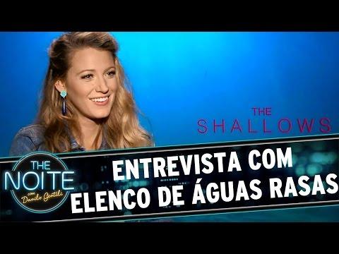 The Noite (26/08/16) - Entrevista com elenco de Águas Rasas