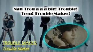 Troublemaker - Trouble Maker (Hyuna and JS) (Karaoke/Instrumental)