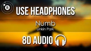 Linkin Park - Numb (8D AUDIO)