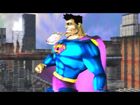 Superman: The Man Of Steel - Walkthrough Part 7 - Mission 7: Bizarro Showdown (Bizarro Boss Fight)