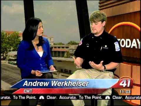 41NBC/WMGT- Mid Georgia Ambulance Teaches What to do When Stroke Strikes 11.12.13