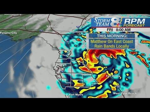 WFLA Storm Team 8 Hurricane Matthew update