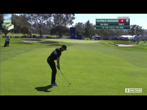 The Phenom Patrick Rodgers' Golf Highlights 2017 Farmers Insurance PGA Tournament Torrey Pines