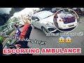Escorting an Ambulance #3   To Rs Elisabeth   Jamnya orang pulang kerja!!   macet parah