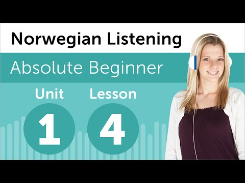Norwegian Listening Practice - Reading a Norwegian Journal