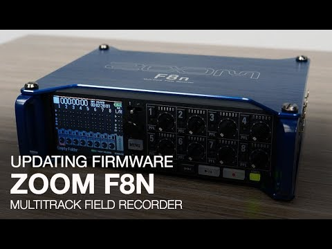 Zoom F8n: Updating The Firmware