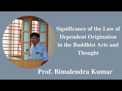 Significance of the Law of Dependent Origination in the Buddhist Art & Thought