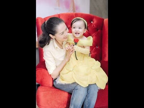 Mommy Marian and Baby Zia Dantes