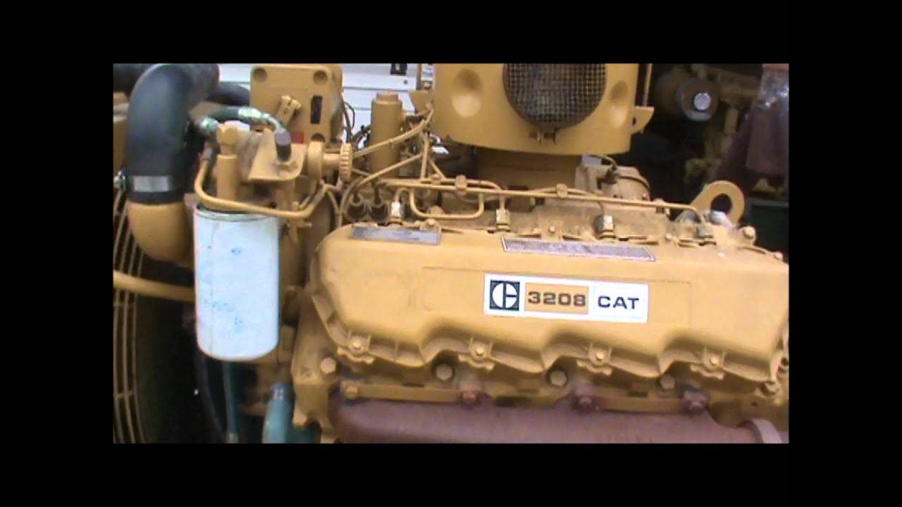 caterpillar 3208 100kw 480v w fuel tank open diesel generator set rh youtube com caterpillar 3208 engine diagram cat 3208 engine diagram