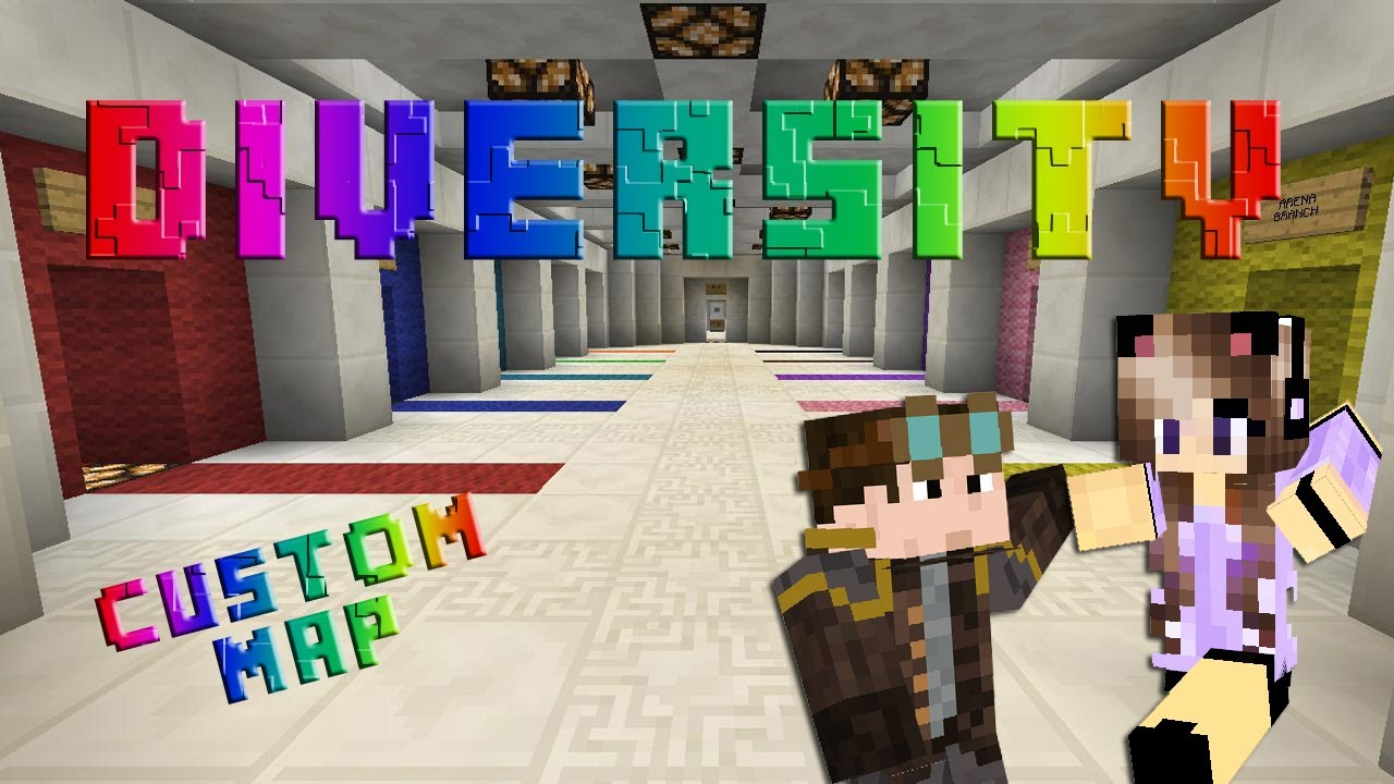 Minecraft Diversity Custom Map 1 Dropper Scegliete Voi YouTube