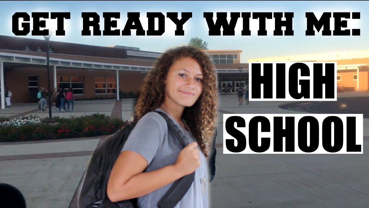 feelings on the first day of high school