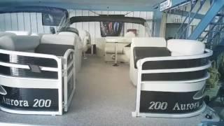 Palm Beach 200 Aurora Pontoon Boat - Don Hyde Marine