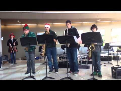 Sleigh Ride - JuiceBox Saxophone Quartet