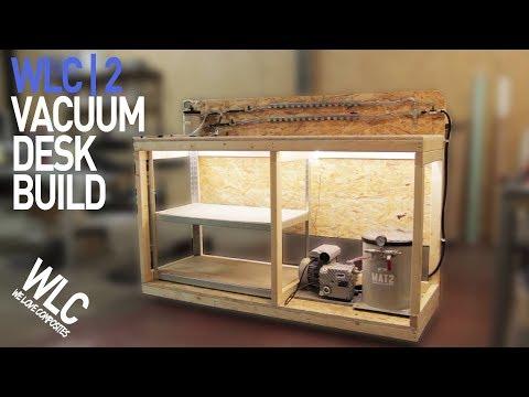 Vacuum Rolling Desk (Build) | We Love Composites *2