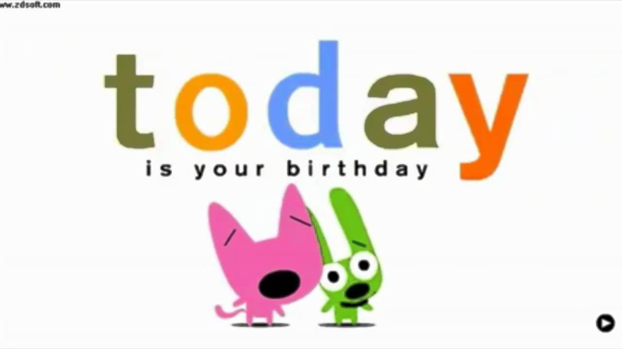 Happy Birthday Hoops And Yoyo Youtube