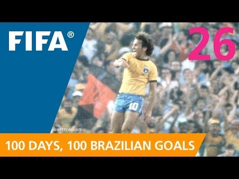 100 Great Brazilian Goals: #26 Zico (Spain 1982)