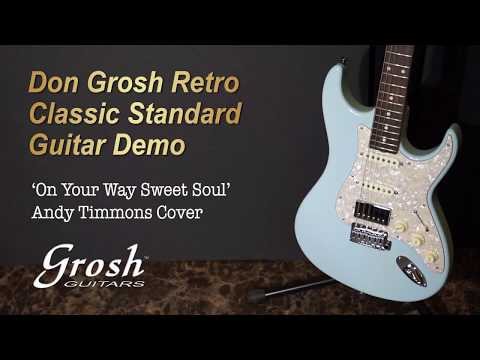 [MusicForce] Don Grosh Retro Classic Standard Guitar Demo