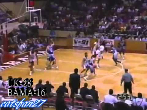 Cats Classics: Kentucky vs. Alabama 2/21/95