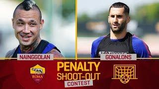 AS Roma Penalty Contest Final! Nainggolan v. Gonalons