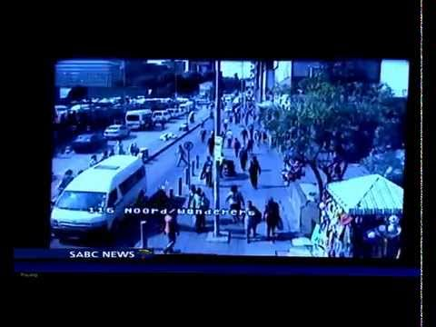 CCTV cameras help curb crime in the Johannesburg CBD