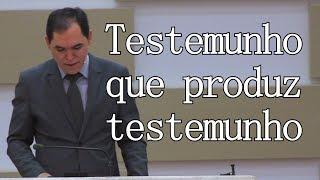 TESTEMUNHO QUE PRODUZ TESTEMUNHO | Reverendo Joselmar Pereira Gomes