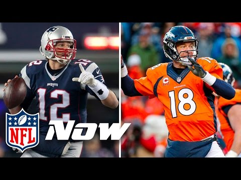 Tale Of The Tape: Tom Brady vs. Peyton Manning | NFL Now