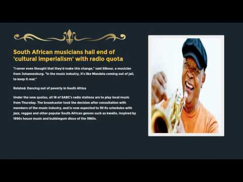 South African musicians hail end of 'cultural imperialism' with radio quota