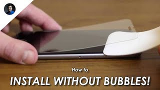 How to install tempered glass screen protector on any phone flawlessly without bubbles?